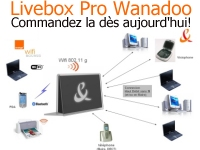 Commandez maintenant Wanadoo Livebox Pro