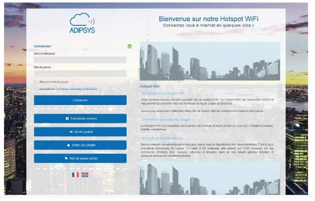HotSpot Manager : Solution Cloud pour le Wifi Guest Acces et Public