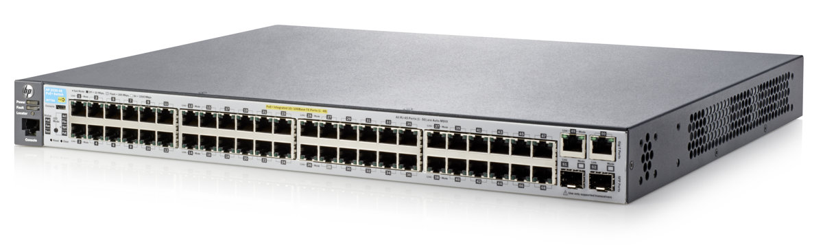 Switch 48 ports gigabit + 4 ports Gigabit SFP