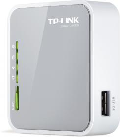 TP-Link MR3020: mini routeur 3G avec point Wifi 150Mb - format desktop