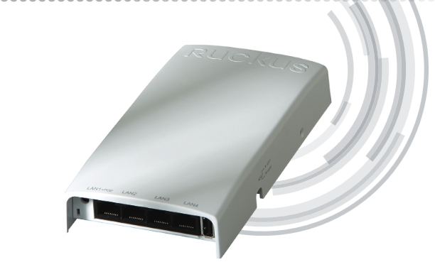 H500 : Point d'Accès Multiservice Wifi 802.11ac + Switch mural 4 ports